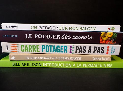 Mes livres de jardinage